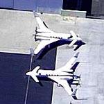 Two Star Ships at Van Nuys (Birds Eye)