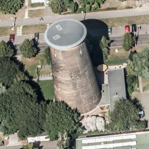 Leipzig-Mockau climbing tower (Birds Eye)