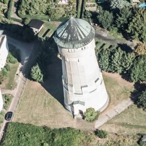 Leipzig-Lindenthal water tower (Birds Eye)