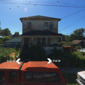 "Lumberjack Dexter's house (""Dexter"") (Bing Maps)"