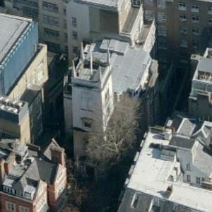 'St Olave's Church, Old Jewry' by Christopher Wren (Birds Eye)