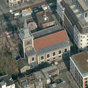 'St James's Church, Piccadilly' by Christopher Wren (Birds Eye)