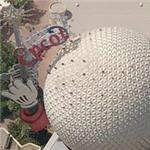 EPCOT Spaceship Earth (Birds Eye)