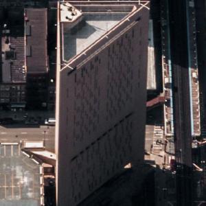 'Metropolitan Correctional Center, Chicago' by Harry Weese (Birds Eye)