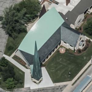 'St Thomas' Episcopal Church' by Harry Weese (Birds Eye)
