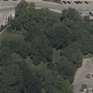 Huron Cemetery (Birds Eye)
