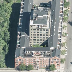 Frederick Stearns Building (Birds Eye)