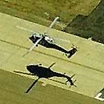 Navy Helicopter in flight (Birds Eye)