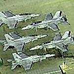 F-18s at Miramar (Birds Eye)