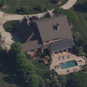 Alex Bowman's house (Bing Maps)