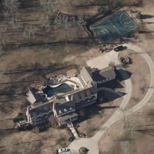Matt Cassel's house (Bing Maps)