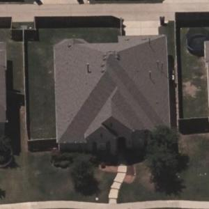 Randy Gregory's house (Bing Maps)
