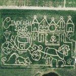 Cinderella 2005 maze (Bing Maps)