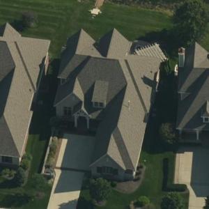 Mark Glowinski's house (Bing Maps)