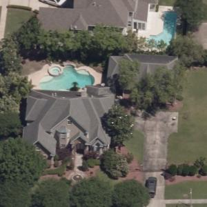 Ricky Williams' house (Birds Eye)