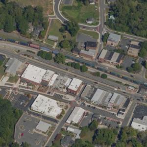 Acworth Downtown Historic District (Birds Eye)