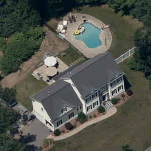 Christian Fauria's house (Birds Eye)