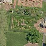 Maze at Missouri Botanical Garden (Birds Eye)