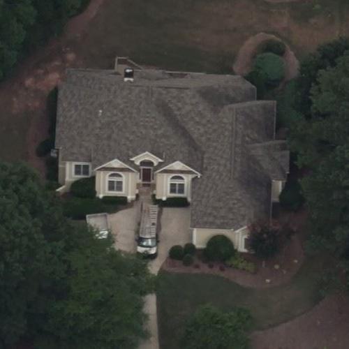 Ed Reed house in McDonough, Georgia