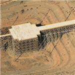 Trestle Electromagnetic Pulse Simulator (Birds Eye)
