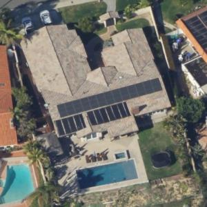 Kris Dielman's house (Birds Eye)