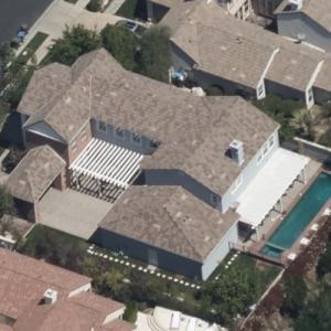 Keyshawn Johnson's house (Birds Eye)