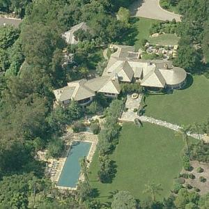 Tom Cruise & Katie Holmes' House (former) (Bing Maps)