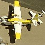 Grumman Albatross at El Paso International (Birds Eye)