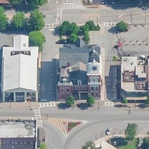 Newton County Courthouse (Birds Eye)