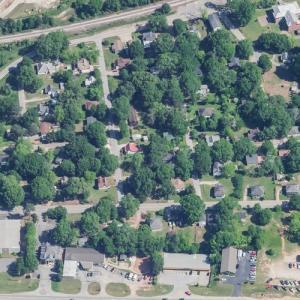 Covington Mills and Mill Village Historic District (Birds Eye)