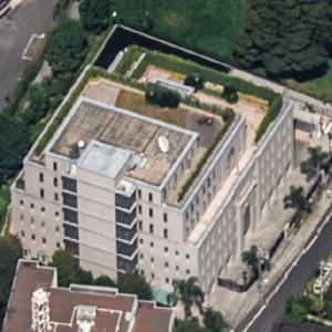 Embassy of Oman, Tokyo (Birds Eye)