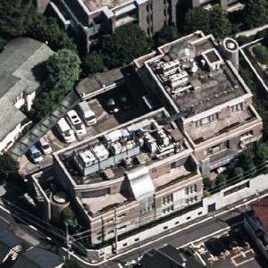 Embassy of the United Arab Emirates, Tokyo (Birds Eye)