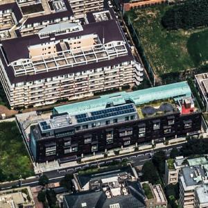Embassy of Cyprus, Tokyo (Birds Eye)