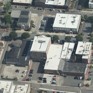 Canton Commercial Historic District (Birds Eye)