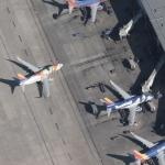 """Southwest Airlines Boeing 737-7H4 """"Florida One"""" and """"Louisiana One"""" at HOU"""