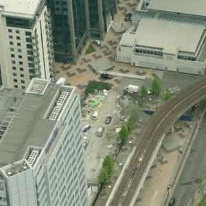 1996 Docklands bombing site (Birds Eye)