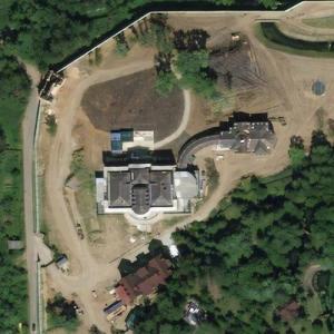 Valery Golubev's Mansion (Bing Maps)