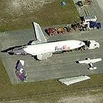 Dismantled FedEx Plane (Birds Eye)