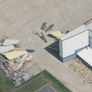 Air Midwest Flight 5481 crash site (Birds Eye)