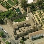 Alcázar de los Reyes Cristianos (Birds Eye)