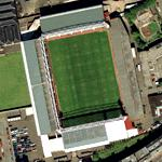 Tynecastle Stadium (Bing Maps)