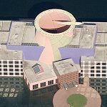 'Team Disney Building' by Venturi Scott Brown (Birds Eye)