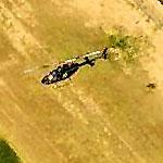 Chopper Over Falcon Field (Birds Eye)