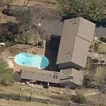 Waylon Jennings' House (former) (Birds Eye)