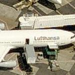 Lufthansa Airbus A340-500 (Birds Eye)