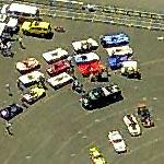 Racecars awaitng start at Portland International Raceways