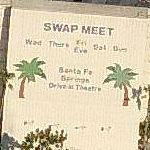 Santa Fe Springs Drive-In Theatre and Swap Meet (Birds Eye)