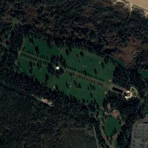 Normandy American Cemetery and Memorial (Bing Maps)