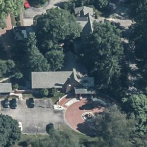 Indiana Governor's Mansion (Birds Eye)