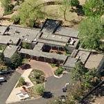 New Mexico Governor's Mansion (Birds Eye)